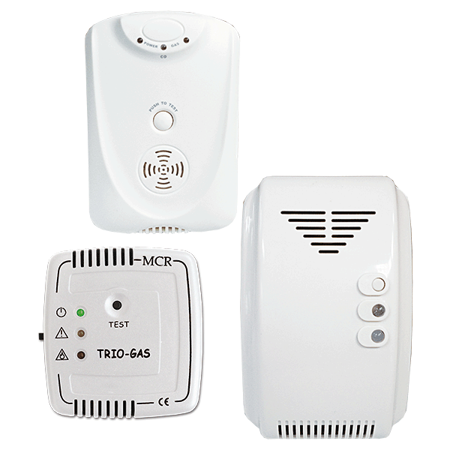 Picture for category Gas leak alarms