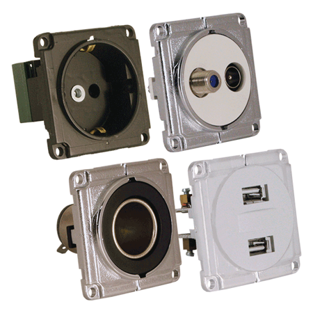 Picture for category Indoor sockets, switches and buttons