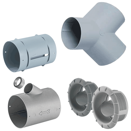 Picture for category Nozzles and connections fo ducting