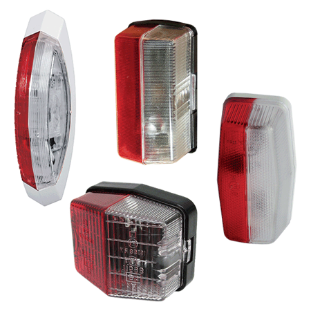 Picture for category Double-sided side marker lights