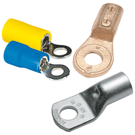 Picture for category Cable lugs with loop