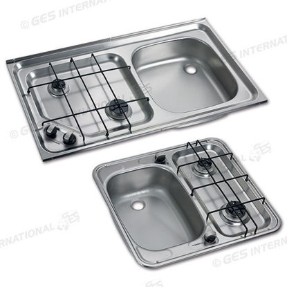Picture of Hobs with HS series sink